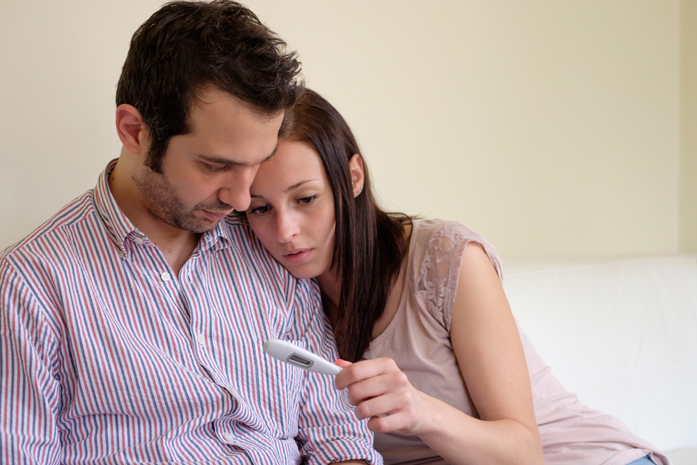 infertility unhappy couple